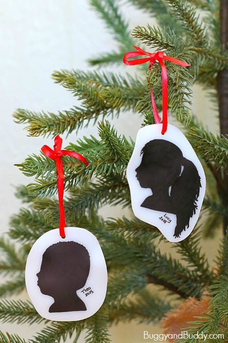 Silhouette Christmas Ornament Craft