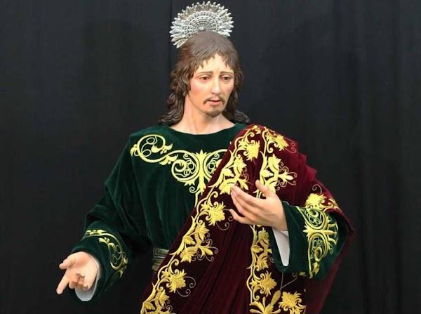 La Cofradía de la Expiración bendice la nueva imagen de San Juan Evangelista de Úbeda