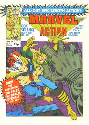 Marvel Action #13, Thor