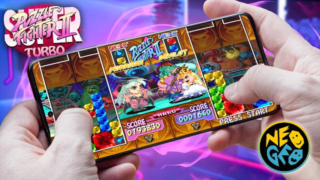 Super Puzzle Fighter 2 Turbo Para Teléfonos Android (ROM NEOGEO)