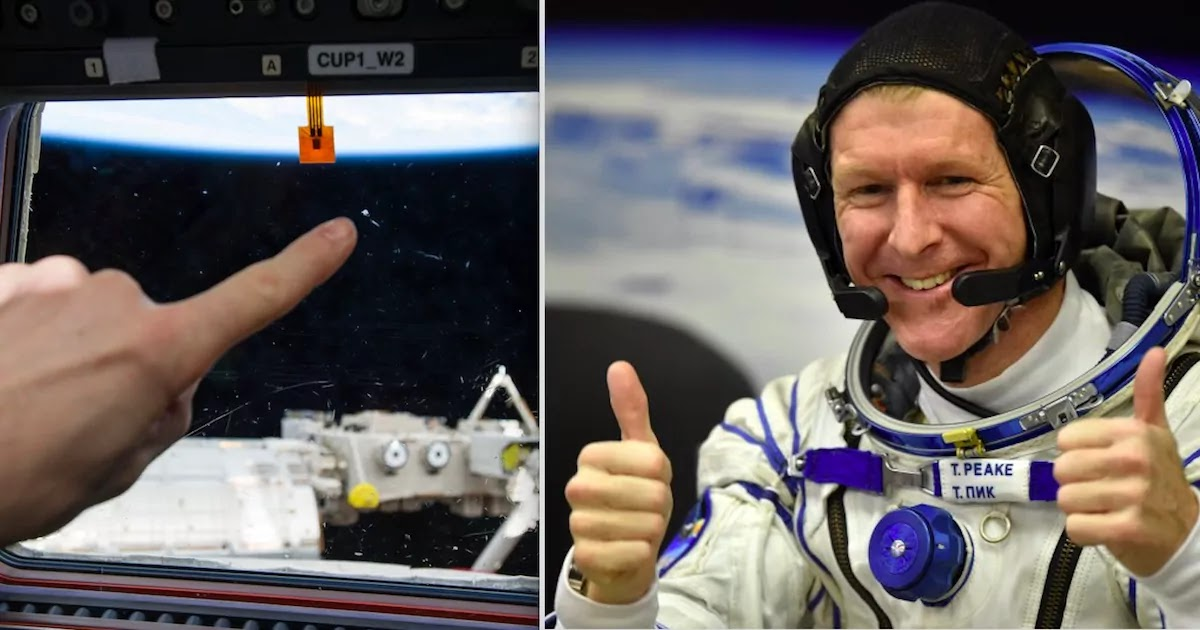 British Astronaut Tim Peake Reveals That The UFOs He Thought He Saw Was Actually Russian Urine