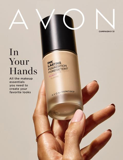 AVON Campaign 9 Brochure 2021 - In Your Hands!