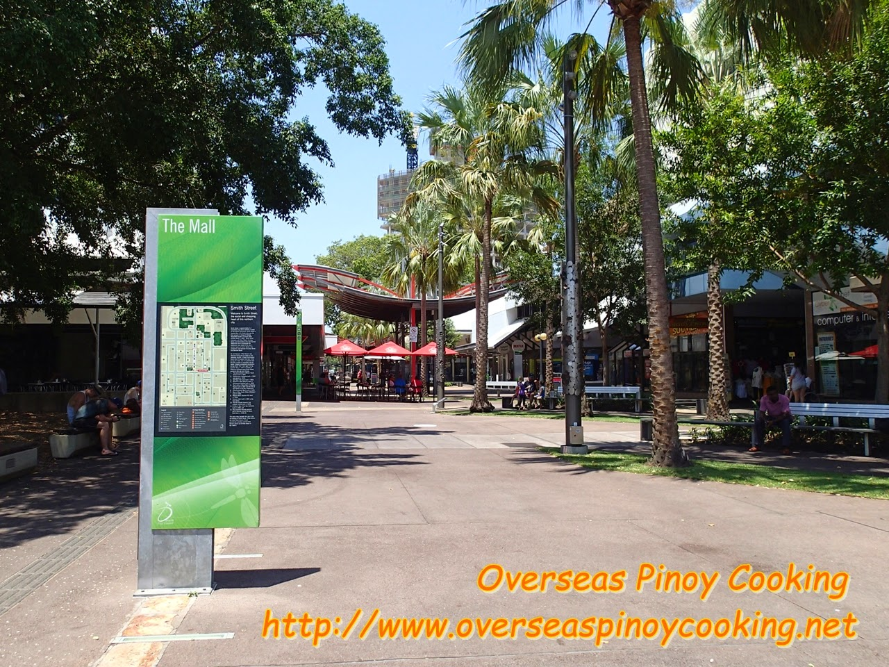 Darwin Australia Center, Street Mall