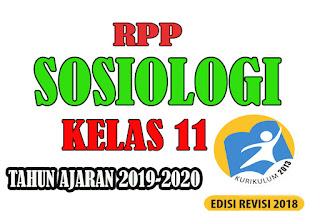 RPP K13 Sosiologi Kelas XI Tahun Ajaran Baru