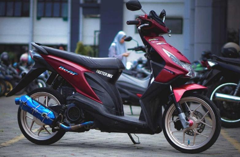 15 Kumpulan Modifikasi Honda Beat Karbu 2020 Terkeren Lengkap Simple Thailook Babylook Kanalmu