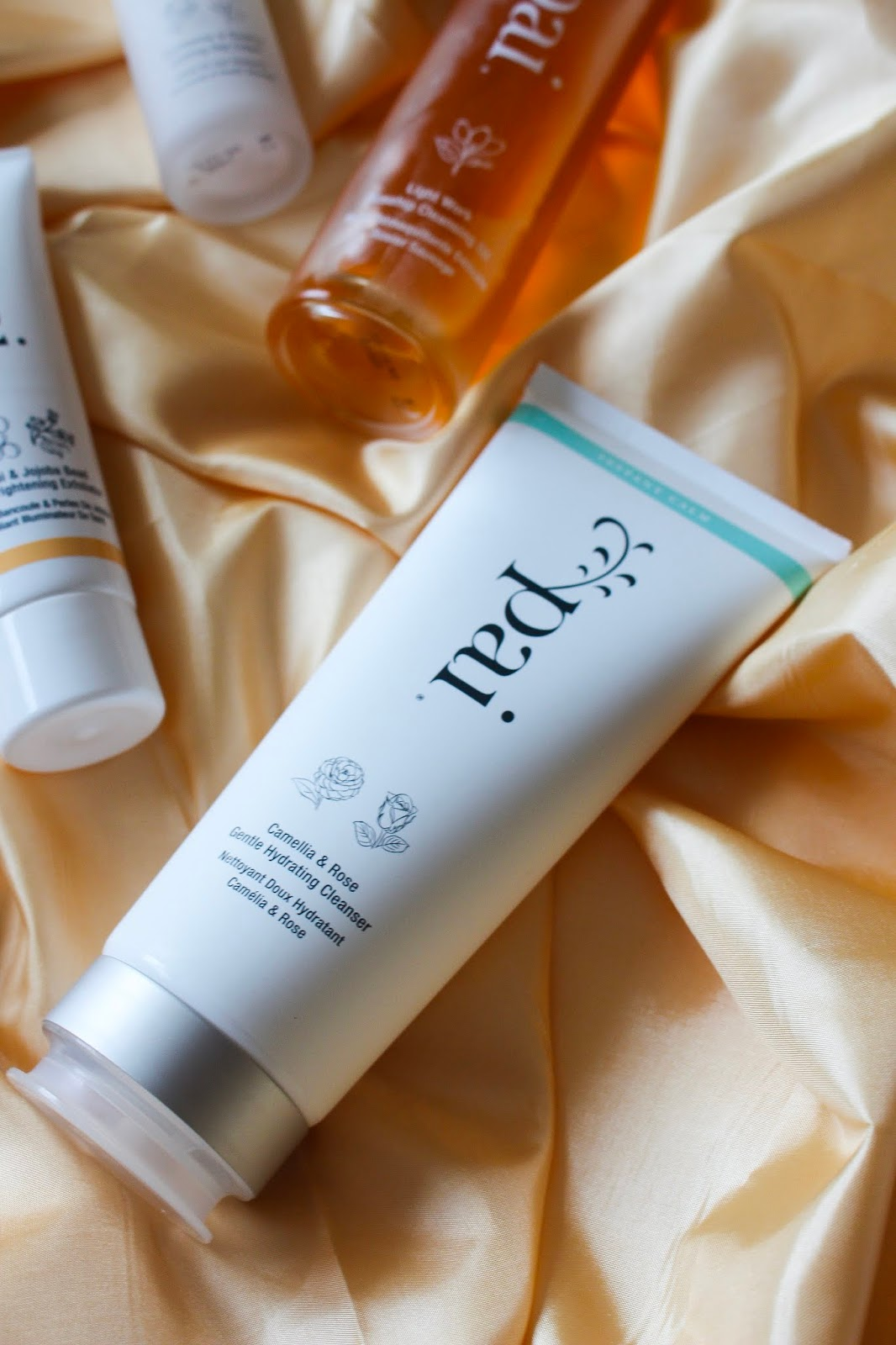 Pau Skincare Chamomile & Rosehip Calming Day Cream, Pai Skincare Rosehip Oil, rosehip oil, benefits of reshape, benefits of organic beauty, benefits of jojoba, Pai Skincare Kukui & Jojoba Bead Skin Brightening Exfoliator review, Vegan beauty, clean beauty, organic beauty, best beauty brands for sensitive skin, best uk vegan beauty brands, Pai Skincare Lightwork Rosehip Cleansing Oil review, Pai Skincare Camellia + Rose Gentle Hydrating Cleanser review