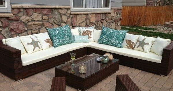 Brand New Outdoor Modern All Weather Rattan Wicker Patio