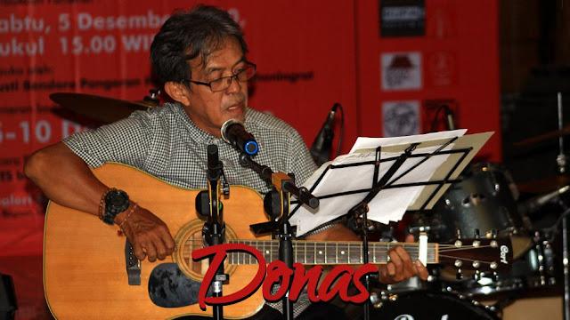 Donas, Musisi Nasional. (Dok. Istimewa)