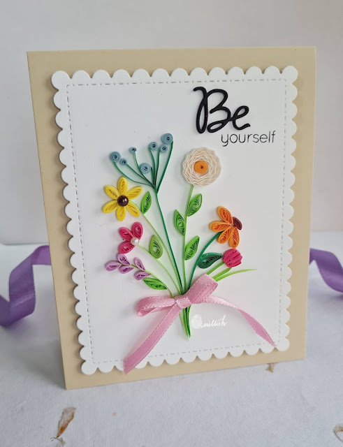 Quilled flowers, Paper quilling for beginners, Filigree flowers, Quilled flowers bouquet, Quilled card, Paisley quilling, Marquis quilling, teardrop quilling shapes, quillish, quilled card for mom