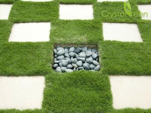تعرف على خطوات تركيب العشب الصناعي بالتفصيل   كريستل جرين ...