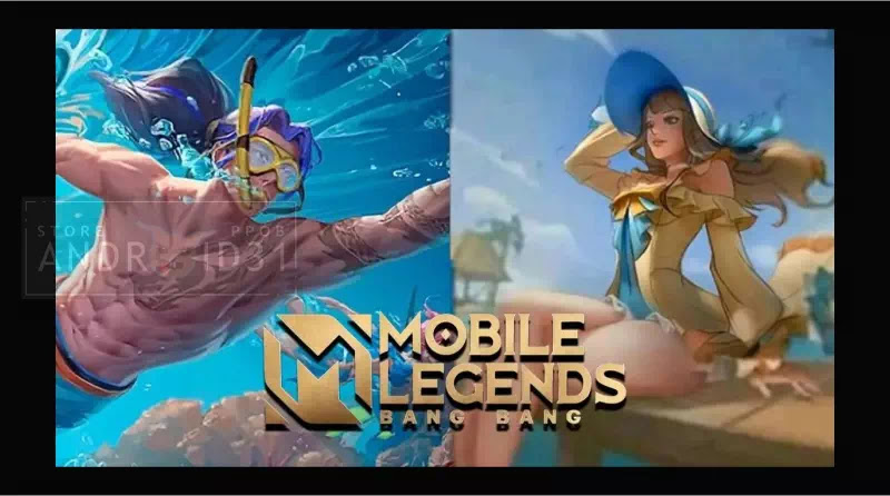 Note!  This is the release date of the Summer Mobile Legends Skin 2021
