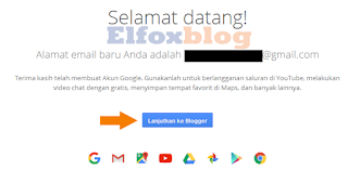 Cara membuat blog di blogger langkah 4