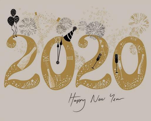 Kumpulan Gambar Ucapan Selamat Tahun Baru 2020 Keren