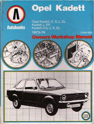 sold autobooks workshop manual for the opel kadett c series rh markkinnon com Buick Opel 1900 1974 Opel Ascona