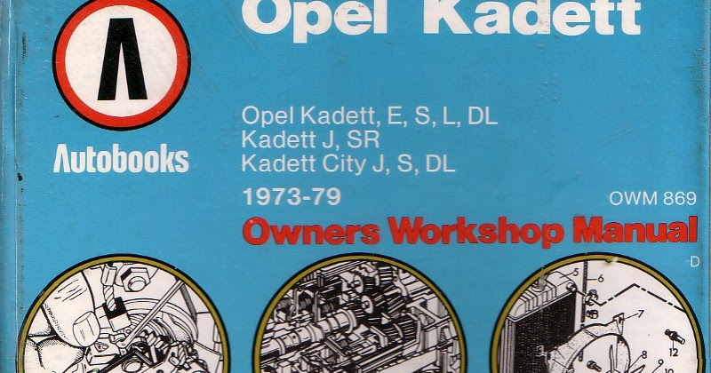 sold autobooks workshop manual for the opel kadett c series rh markkinnon com 1960 Opel Kadett 1962 Opel Kadett