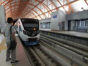 Pengalaman Mencoba LRT Palembang yang Canggih dan Nyaman