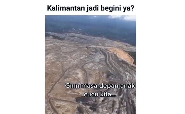 Pantas Sekarang Banjir, Ternyata Begini Kondisi Kalimantan dari Udara