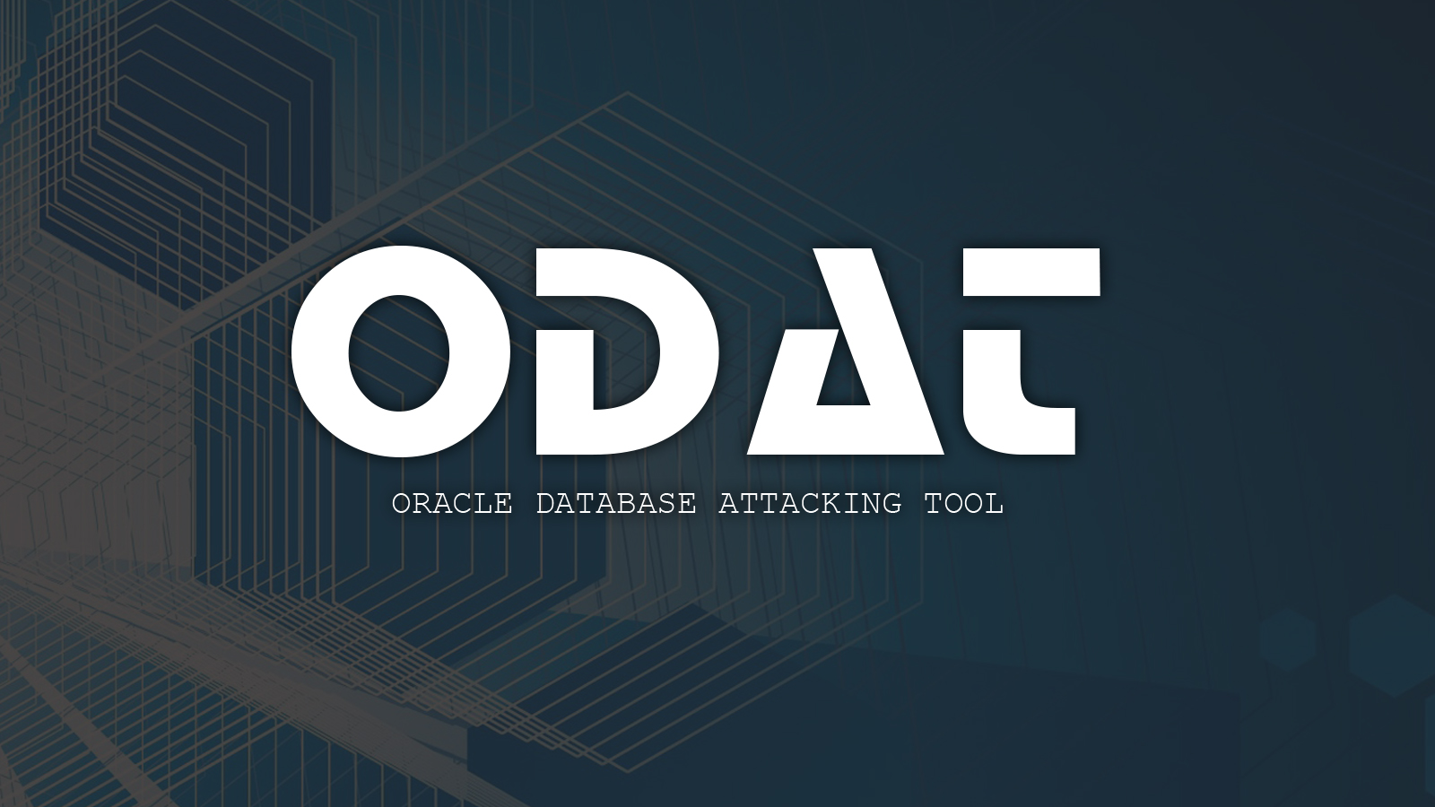 ODAT - Oracle Database Attacking Tool