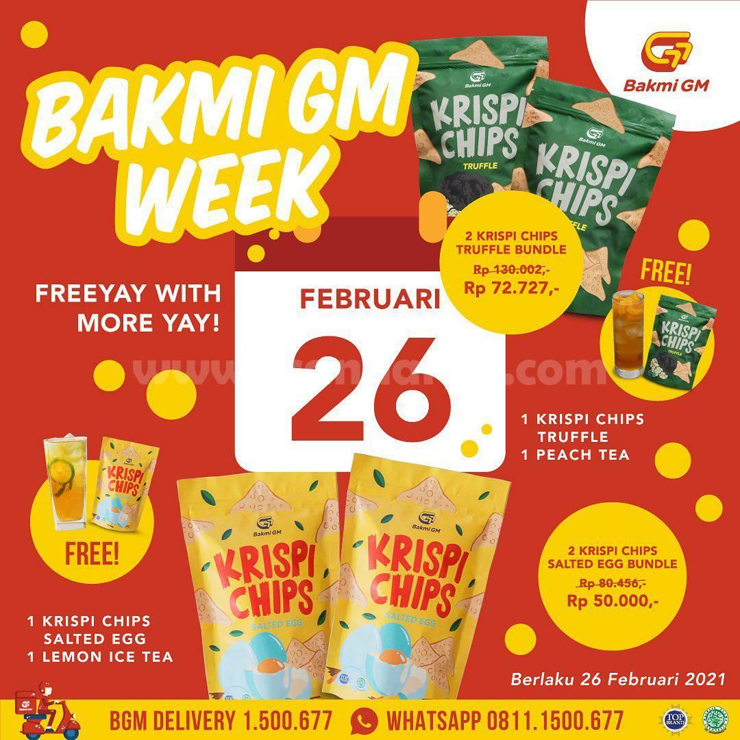 Promo BAKMI GM WEEK – DISKON SPESIAL Selama SEMINGGU!