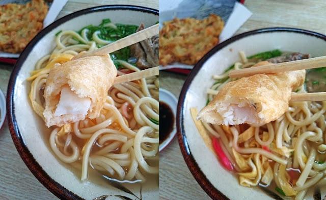 イカとサカナの天ぷらの写真