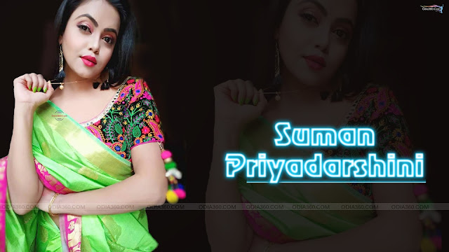 Pretty Suman Priyadarshini Odia Actress HD Wallpaper Download