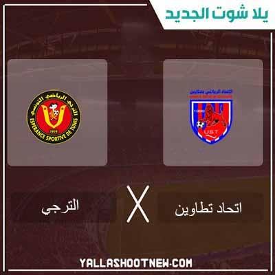 مشاهدة مباراة الترجى واتحاد تطاوين بث مباشر اليوم 09-02-2020 فى الدورى التونسى