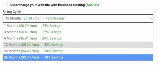 hostwinds 36 months plan pricing