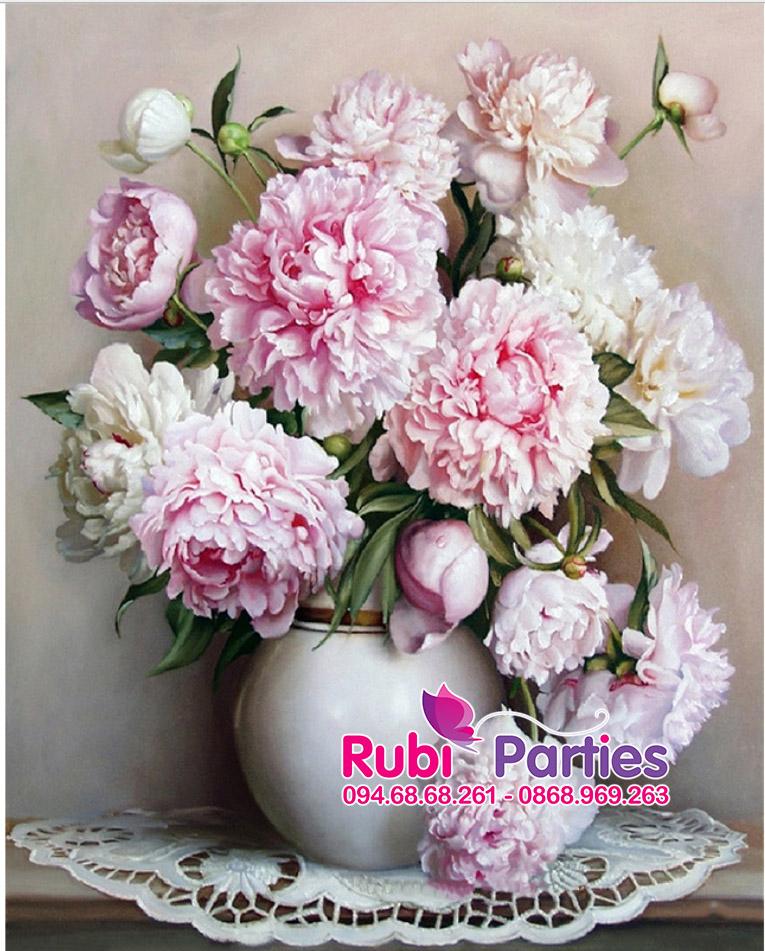 Tranh son dau so hoa o Thuong Cat