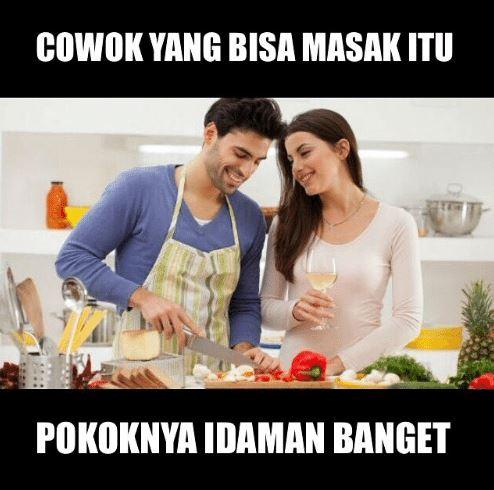 10 Meme Lucu 'Tipe Suami Idaman' Ini Bikin Cowok Pengen Memantaskan Diri