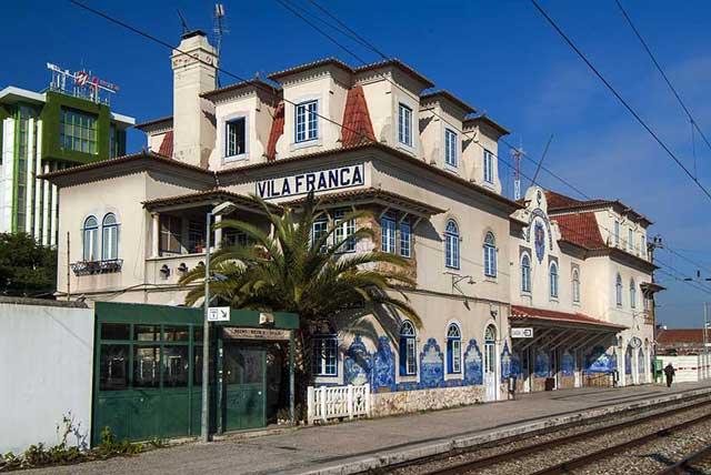 Vila Franca de Xira Station (Estação Ferroviária de Vila Franca de Xira)