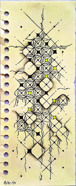 inspired by...4C Rope on a bookmark