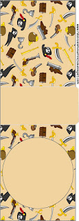 Pirate Party Free Printable Tic Tac Labels.