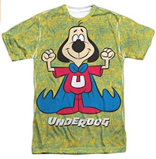 Click here to purchase Underdog Super Flex T-shirt at Amazon!