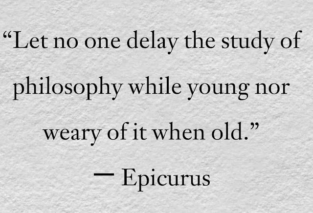 Epicurus philosophy  Quotes