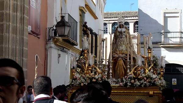 Suspendida la salida procesional de la Virgen de la Palma de Jerez de la Frontera