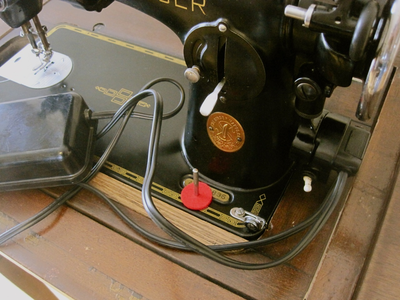 The Project Lady Singer 201 2 Sewing Machine Motor Re