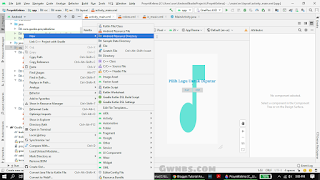 bagaimana cara membuat mp3 player di android studio