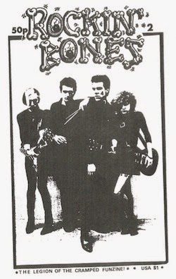 Rockin' Bones - Legion of the Cramped Newsletter/Zines