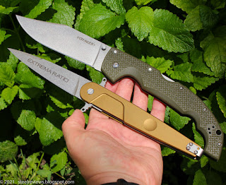 Extrema Ratio Lucky vs. Cold Steel Voyager XL