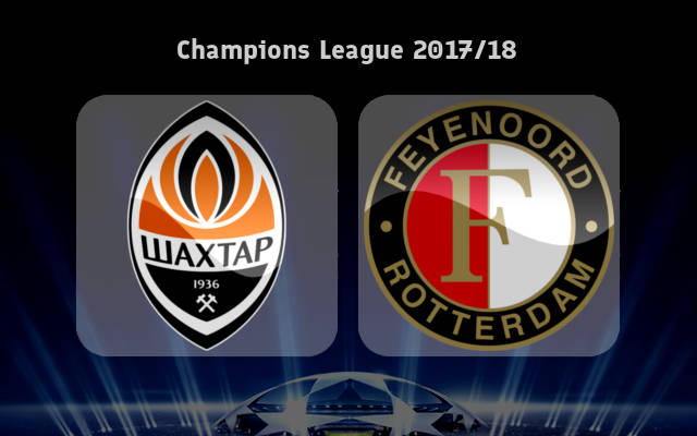 Shakhtar Donetsk vs Feyenoord Full Match & Highlights 1 November 2017