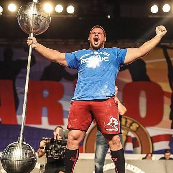 Top 10: Strongest Man in the World