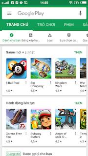 Ch Play APK - kho ứng dụng đỉnh cao của Google 1