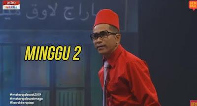 Tonton Maharaja Lawak Mega 2019 Minggu 2 Full MLM