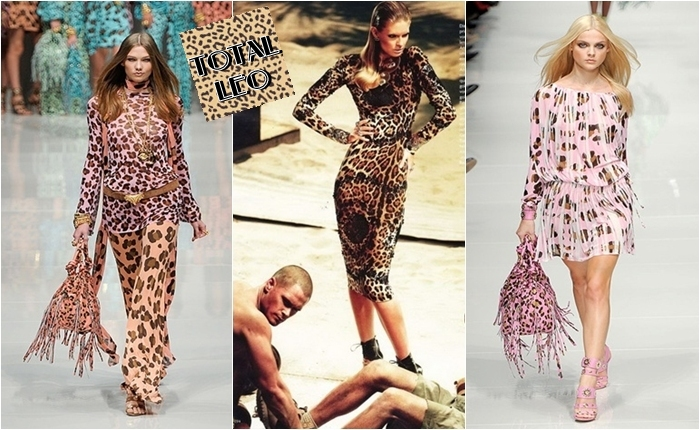 head to toe leopard print designer fashion looks