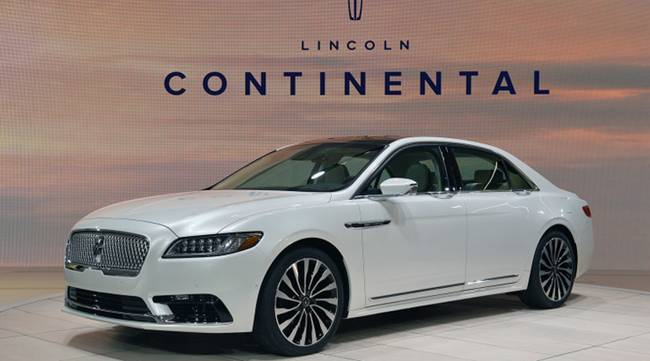 2017 lincoln continental release date, engine, exterior and colors