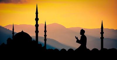 Ilustrasi berdoa akhir tahun