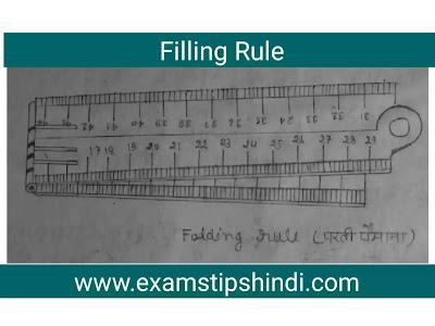 Folding Rule