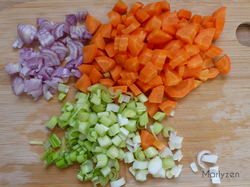 Soupe de lentilles au thon