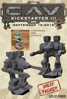 CAV Kickstarter Sneak Preview from Talon Games