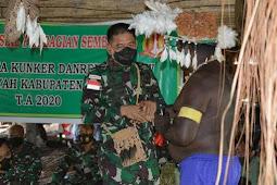 Bangun Nawoko Pimpin Rombongan Korem 174 Gelar Bakti Sosial di Asmat